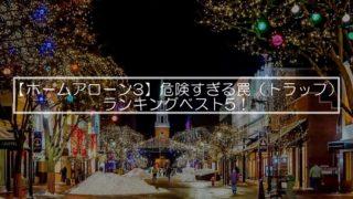 【ホームアローン3】危険すぎる罠(トラップ)ランキングベスト5!