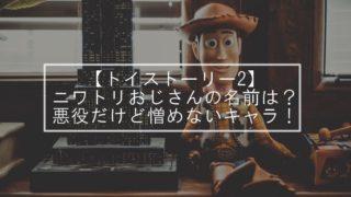 【トイストーリー2】ニワトリおじさんの名前は?悪役だけど憎めないキャラ!